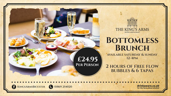 The King's Arms Bottomless Brunch
