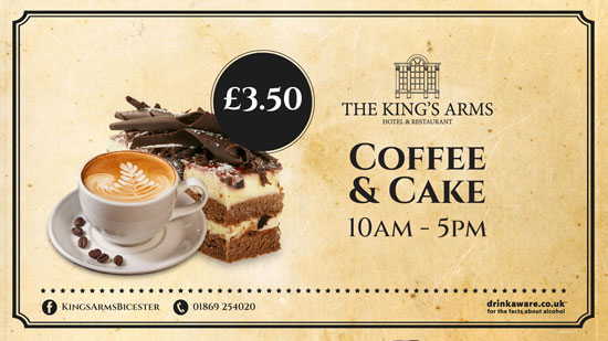 The King's Arms Coffee and Cake